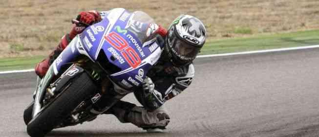 Lorenzo se muestra como el más listo en el GP de Aragón