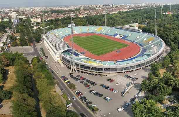 vasil levski estadio nacional de bulgaria