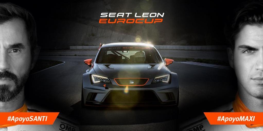 coche SEAT León Eurocup - apoyosanti : apoyomaxi