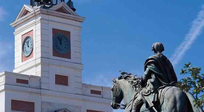 España ciudades sol