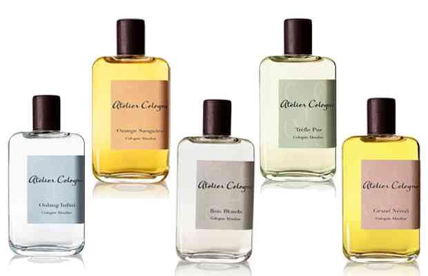 Perfumes de lujo publicidad
