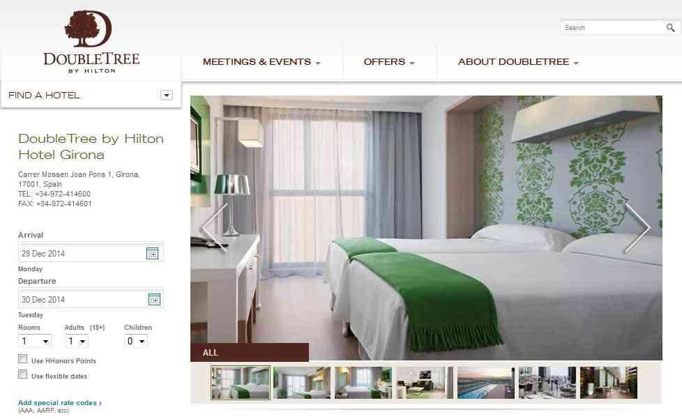 Hilton Girona DoubleTree
