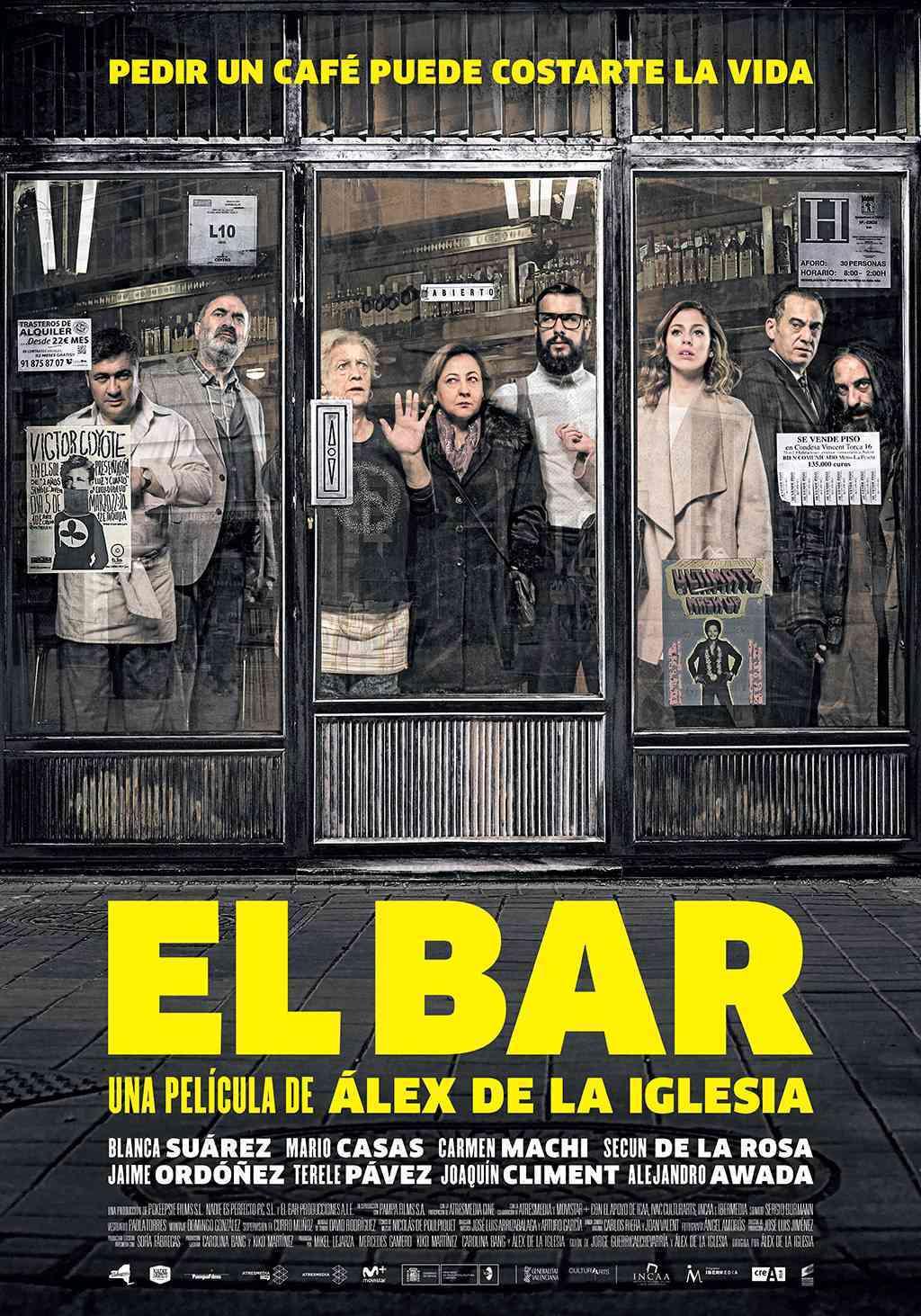El Bar - película de Alex de la Iglesia