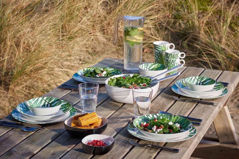Vajilla Flow Botanic. ¡Energía tropical en la mesa! 5