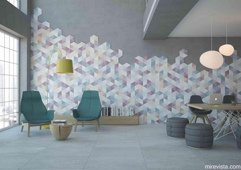 Tendencias cerámicas para decoración de interiores 7