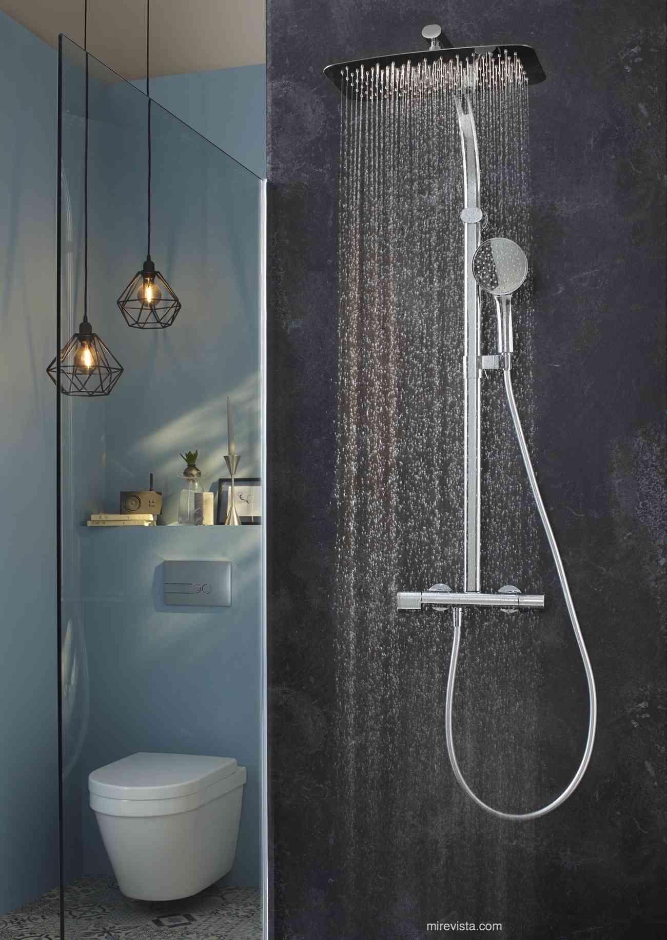 Columna de ducha oblo, la elegancia y el diseño renovado