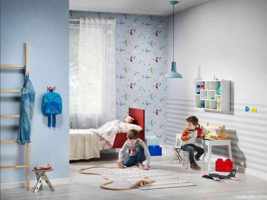 Decora la primera habitación de tu bebé con papel pintado 22