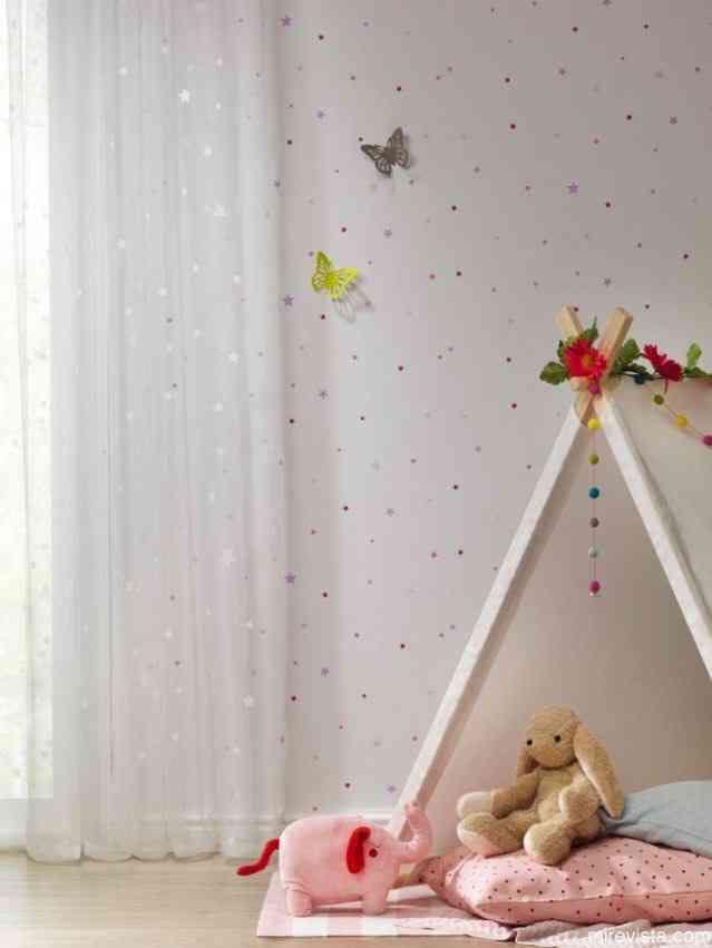 Decora la primera habitación de tu bebé con papel pintado 23