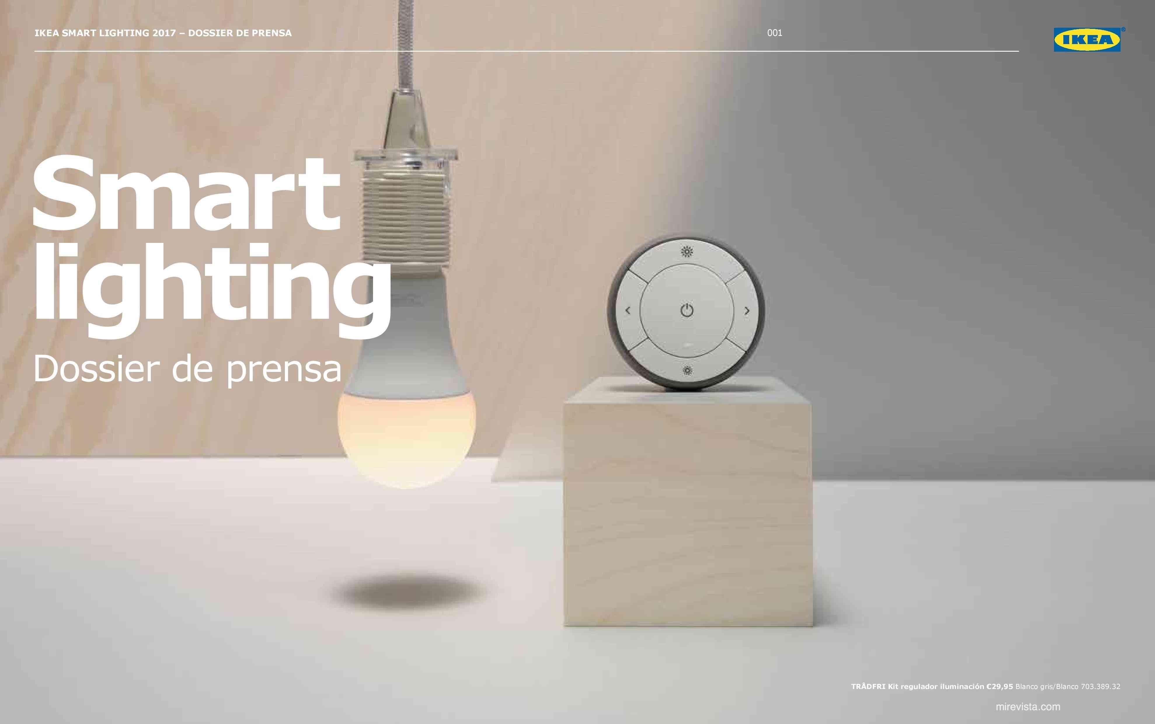 Novedades en iluminación de casas inteligentes con IKEA 57