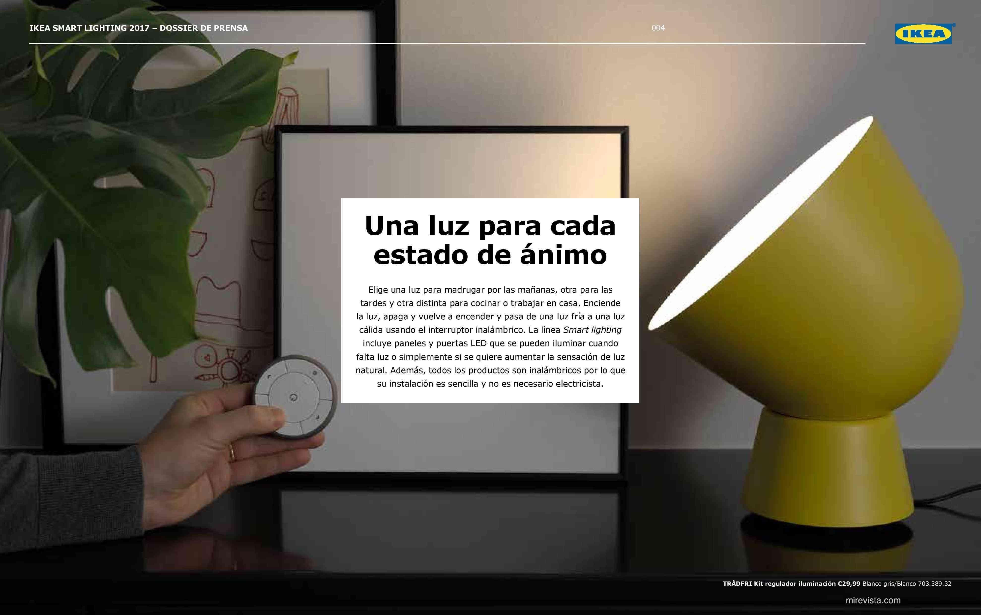 Novedades en iluminación de casas inteligentes con IKEA 60