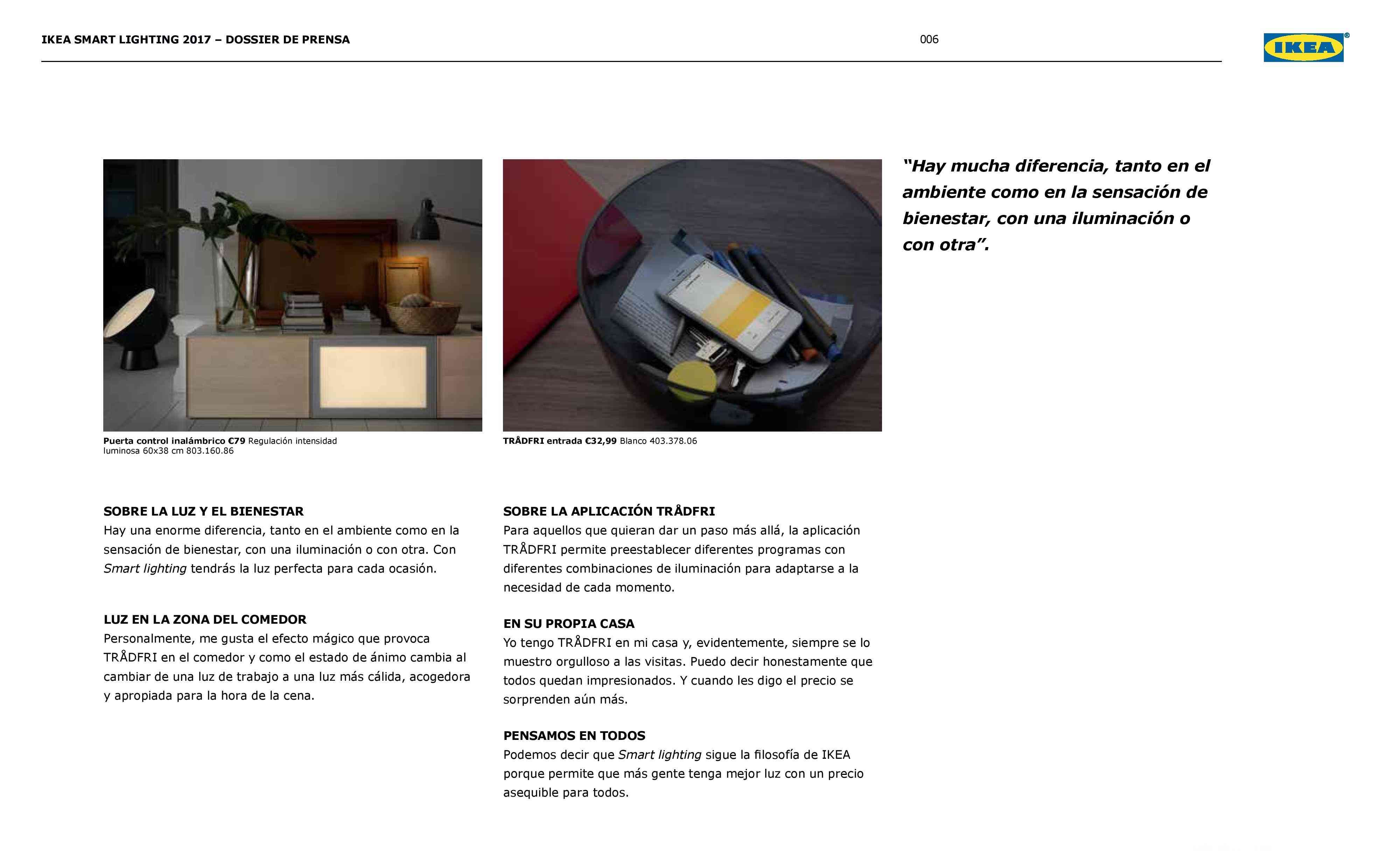 Novedades en iluminación de casas inteligentes con IKEA 62