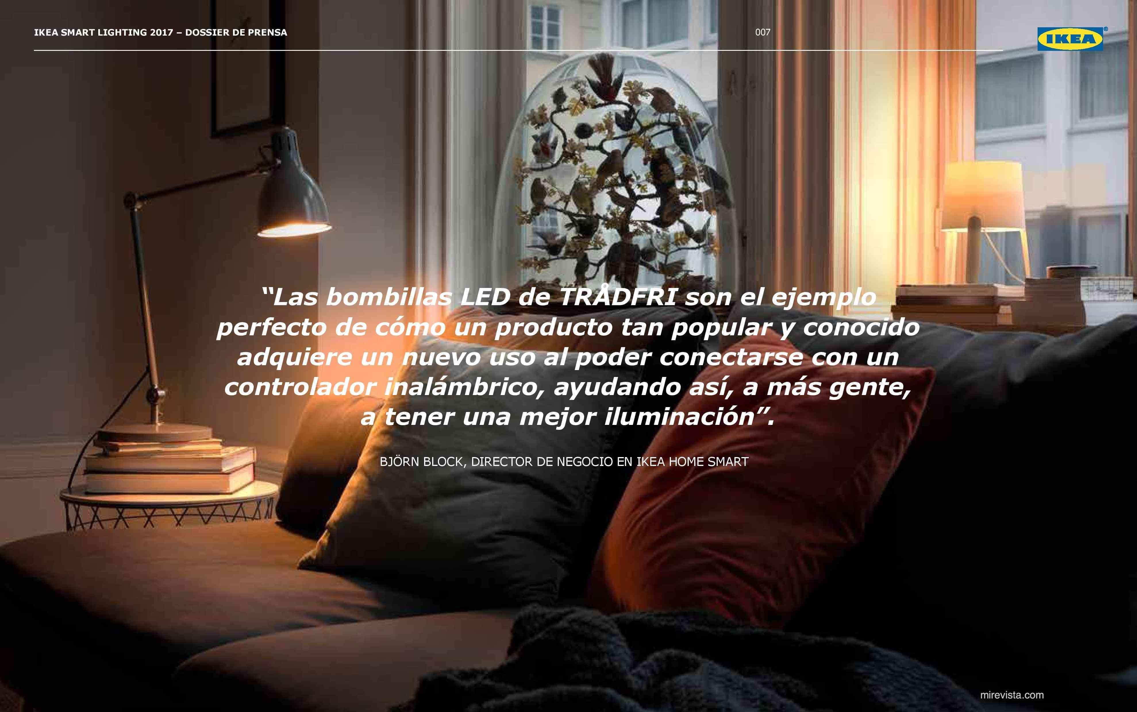 Novedades en iluminación de casas inteligentes con IKEA 63