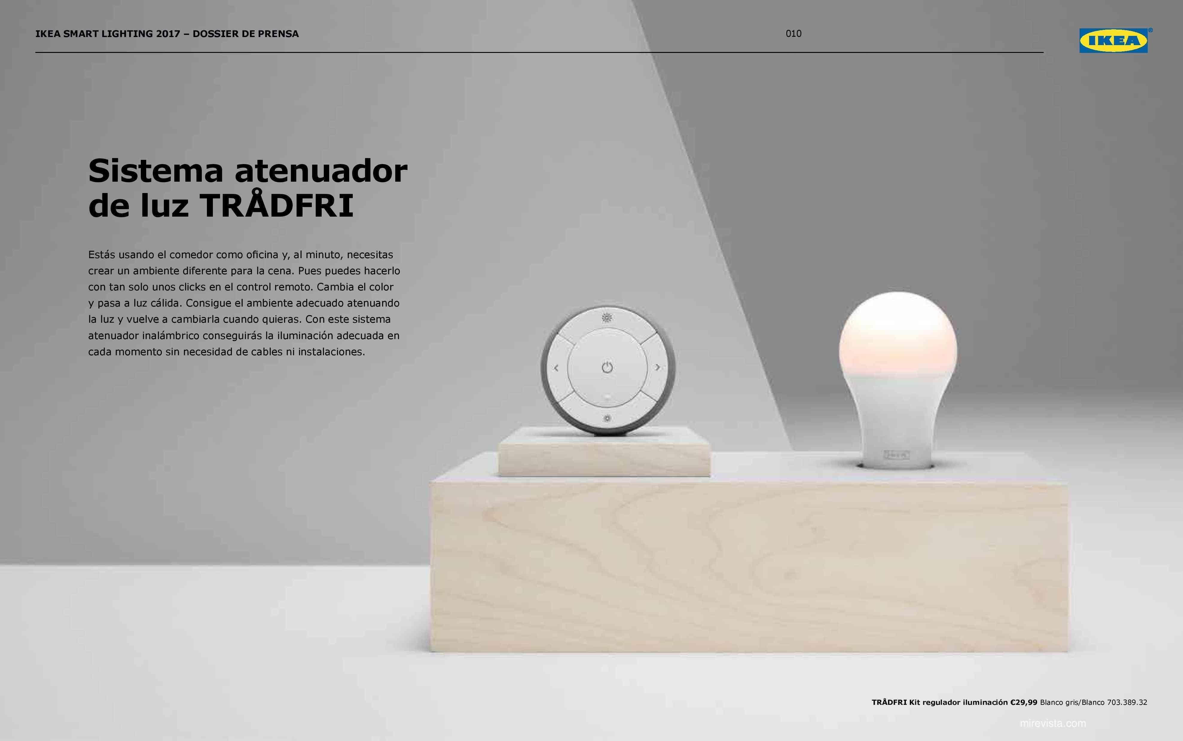 Novedades en iluminación de casas inteligentes con IKEA 66