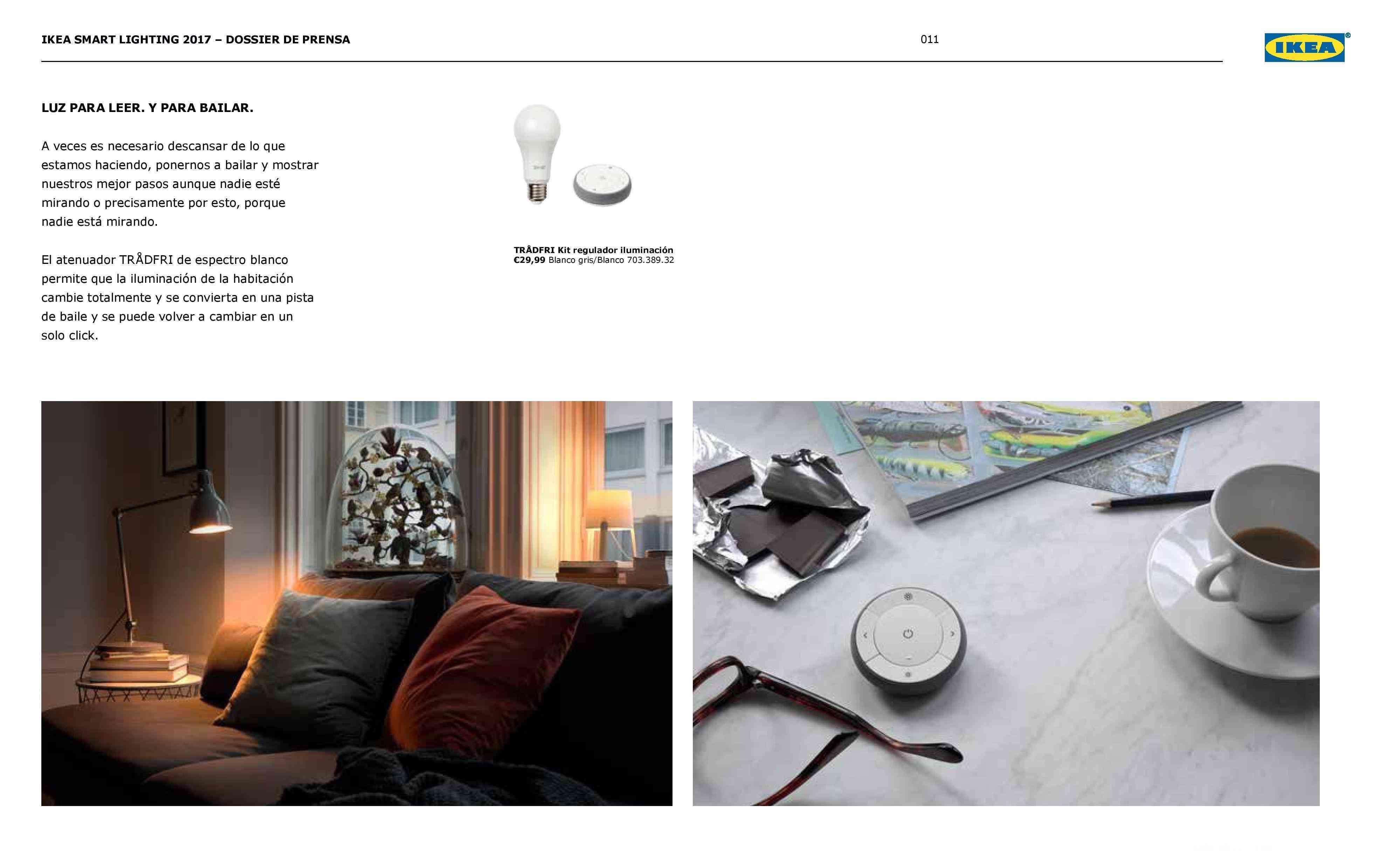 Novedades en iluminación de casas inteligentes con IKEA 67