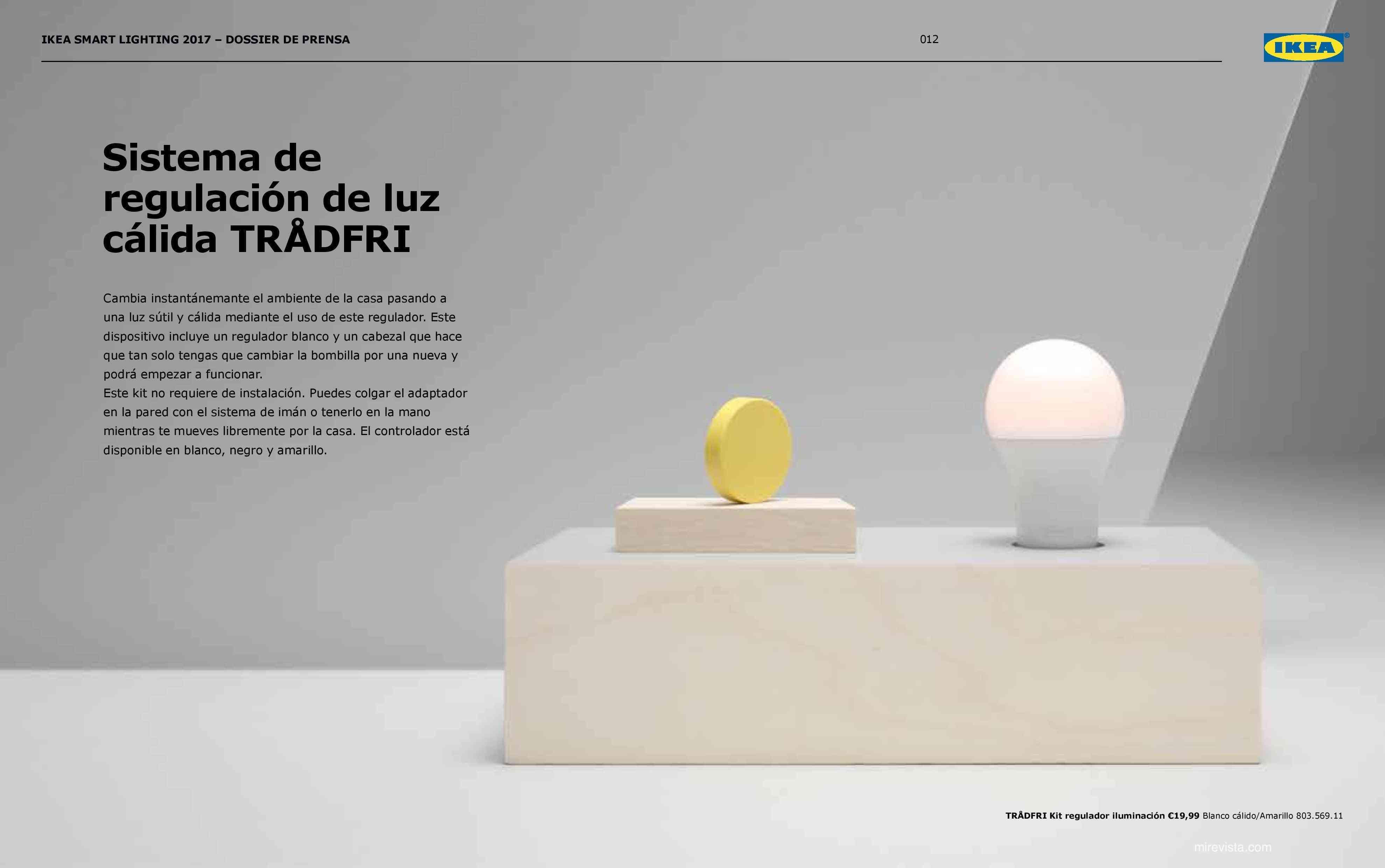 Novedades en iluminación de casas inteligentes con IKEA 68