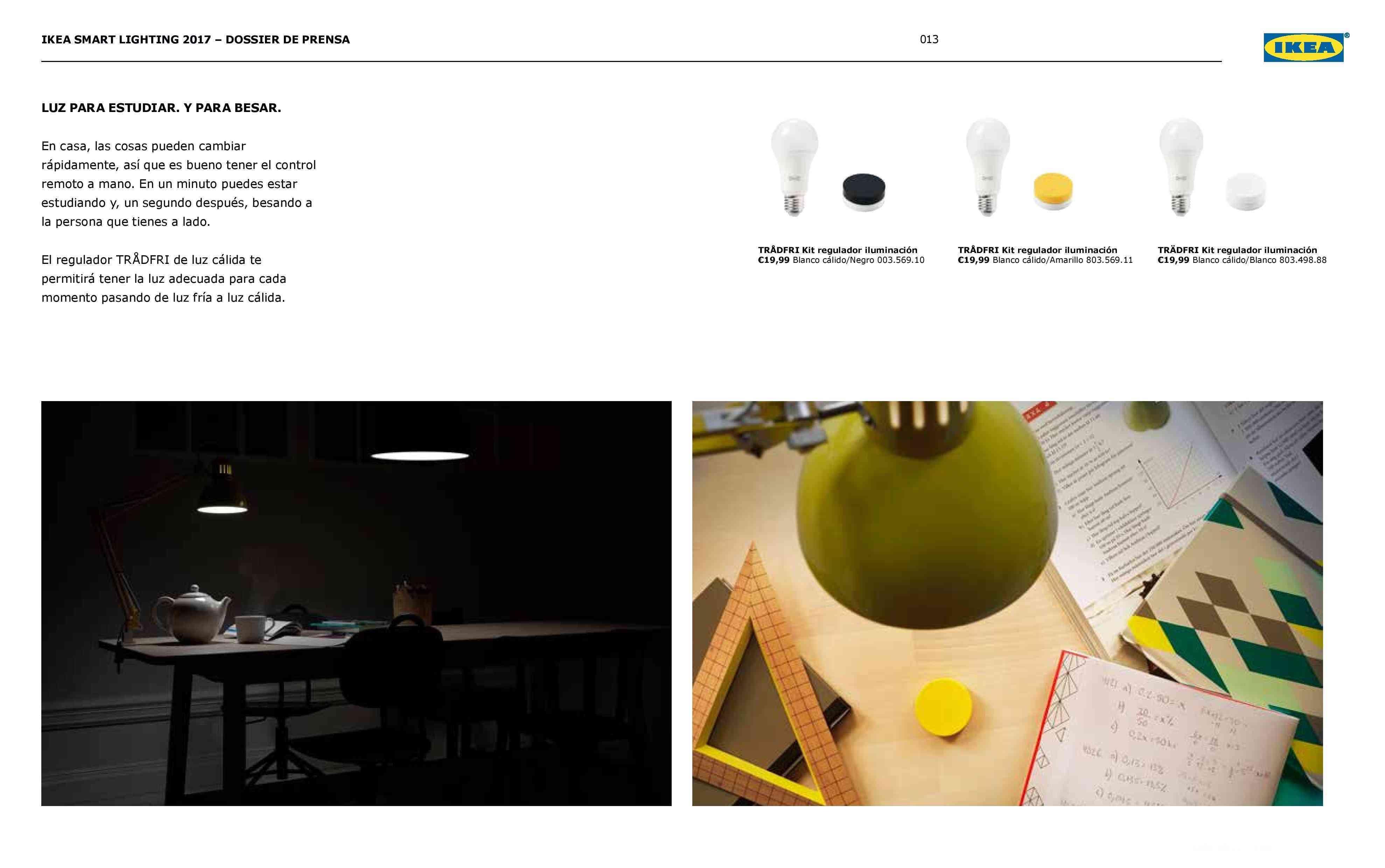 Novedades en iluminación de casas inteligentes con IKEA 69
