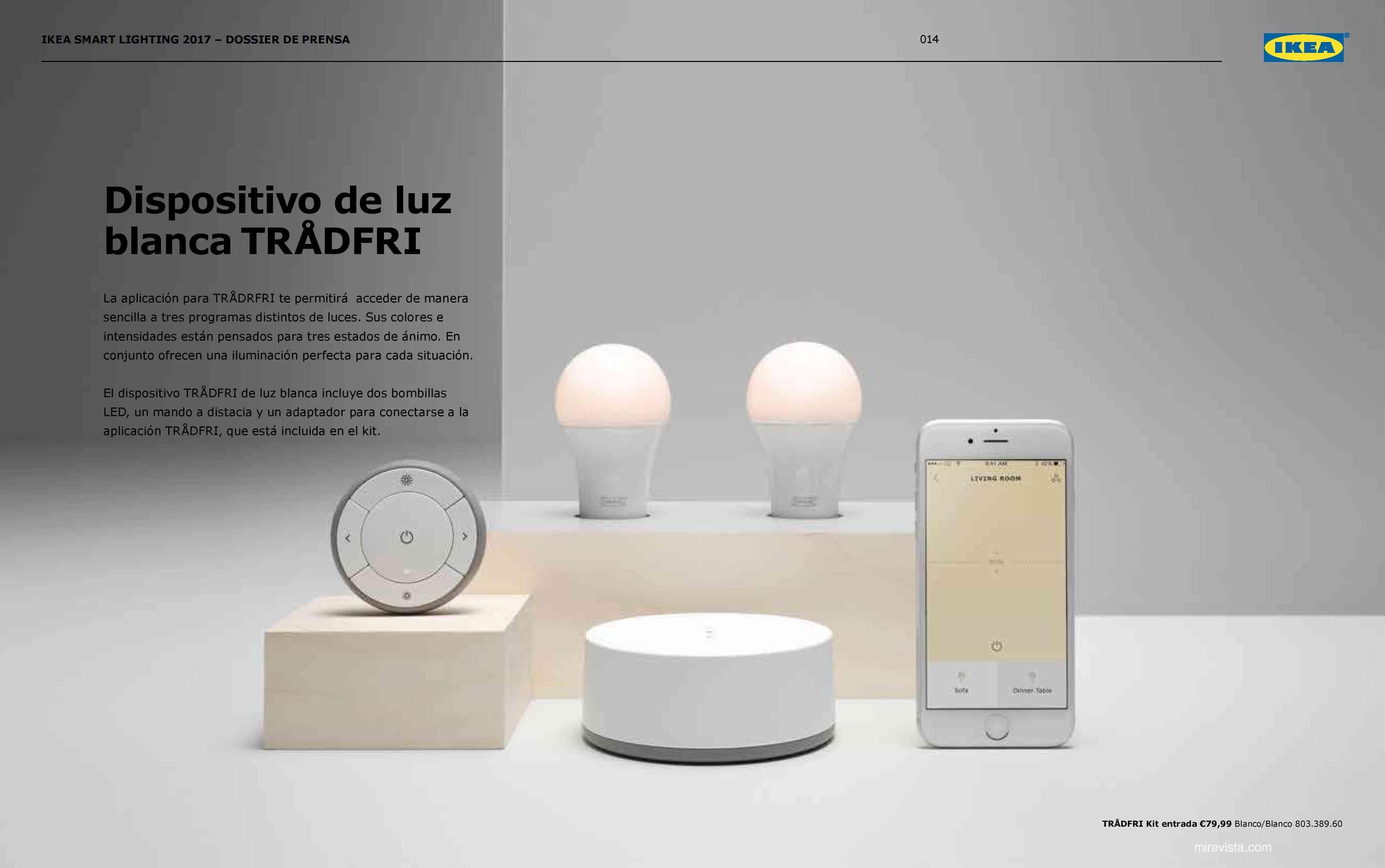 Novedades en iluminación de casas inteligentes con IKEA 70