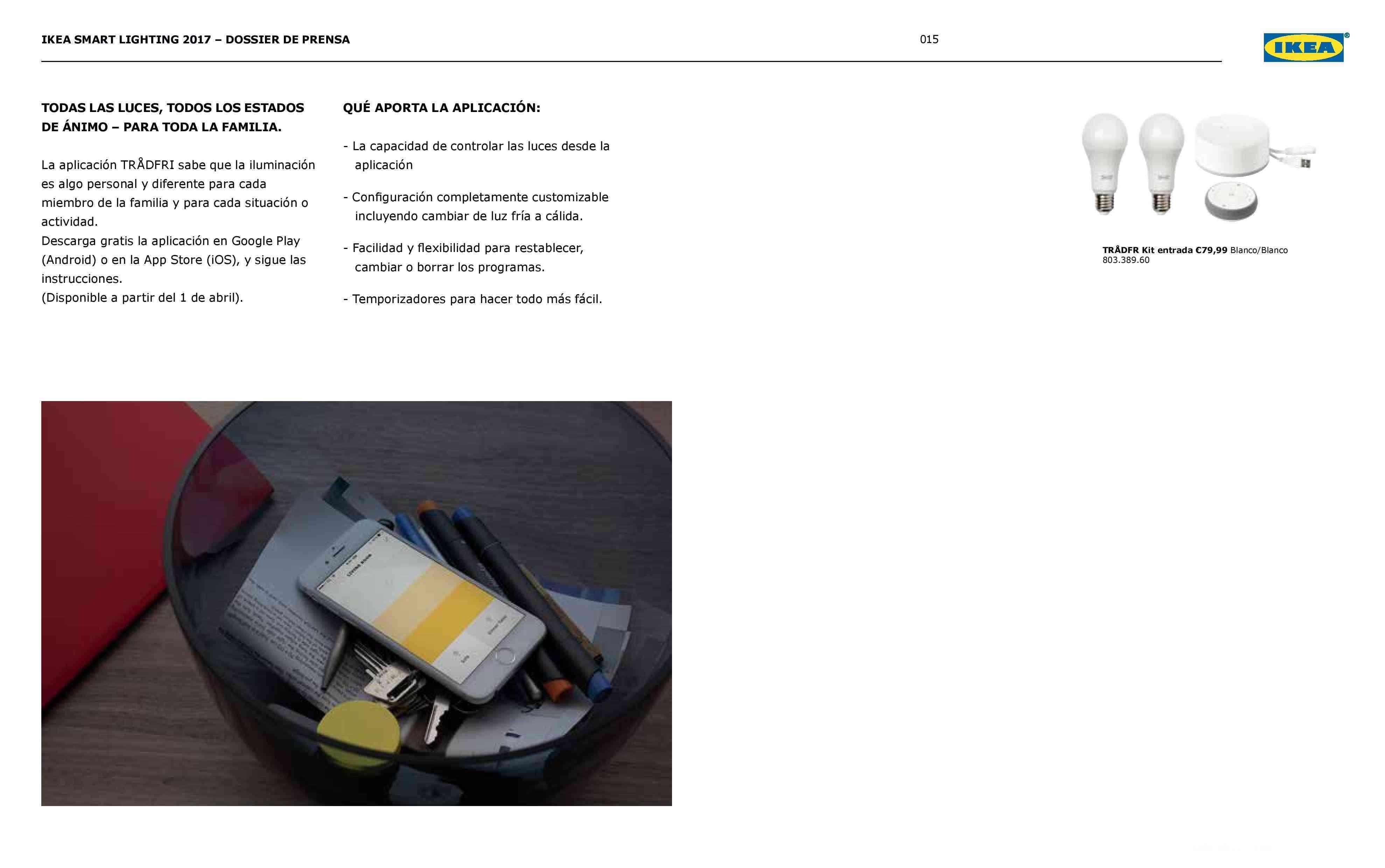 Novedades en iluminación de casas inteligentes con IKEA 71