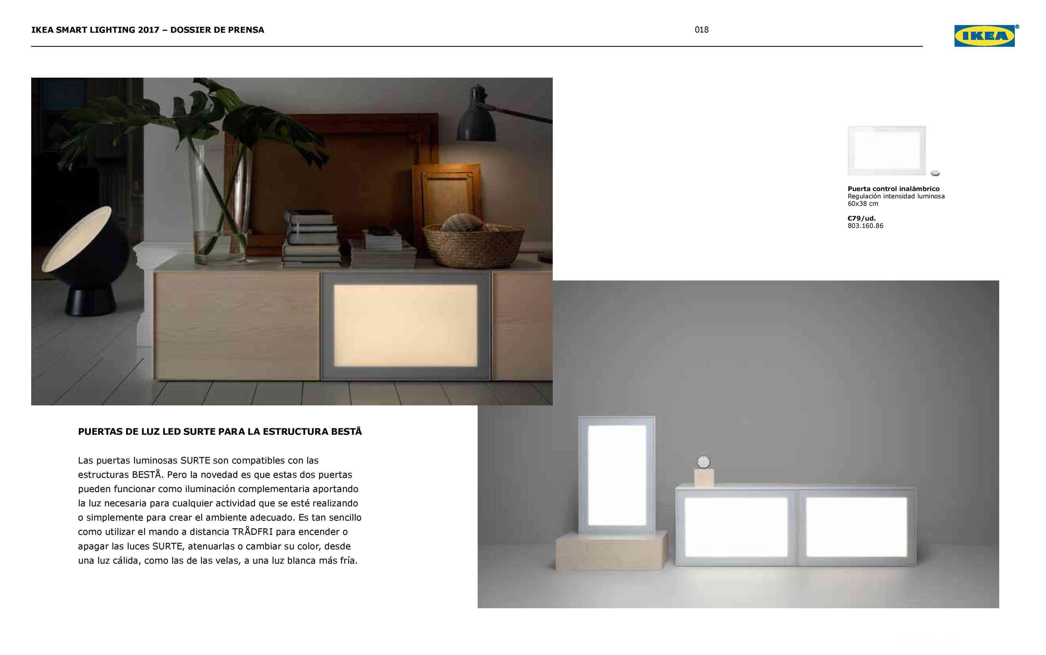 Novedades en iluminación de casas inteligentes con IKEA 74