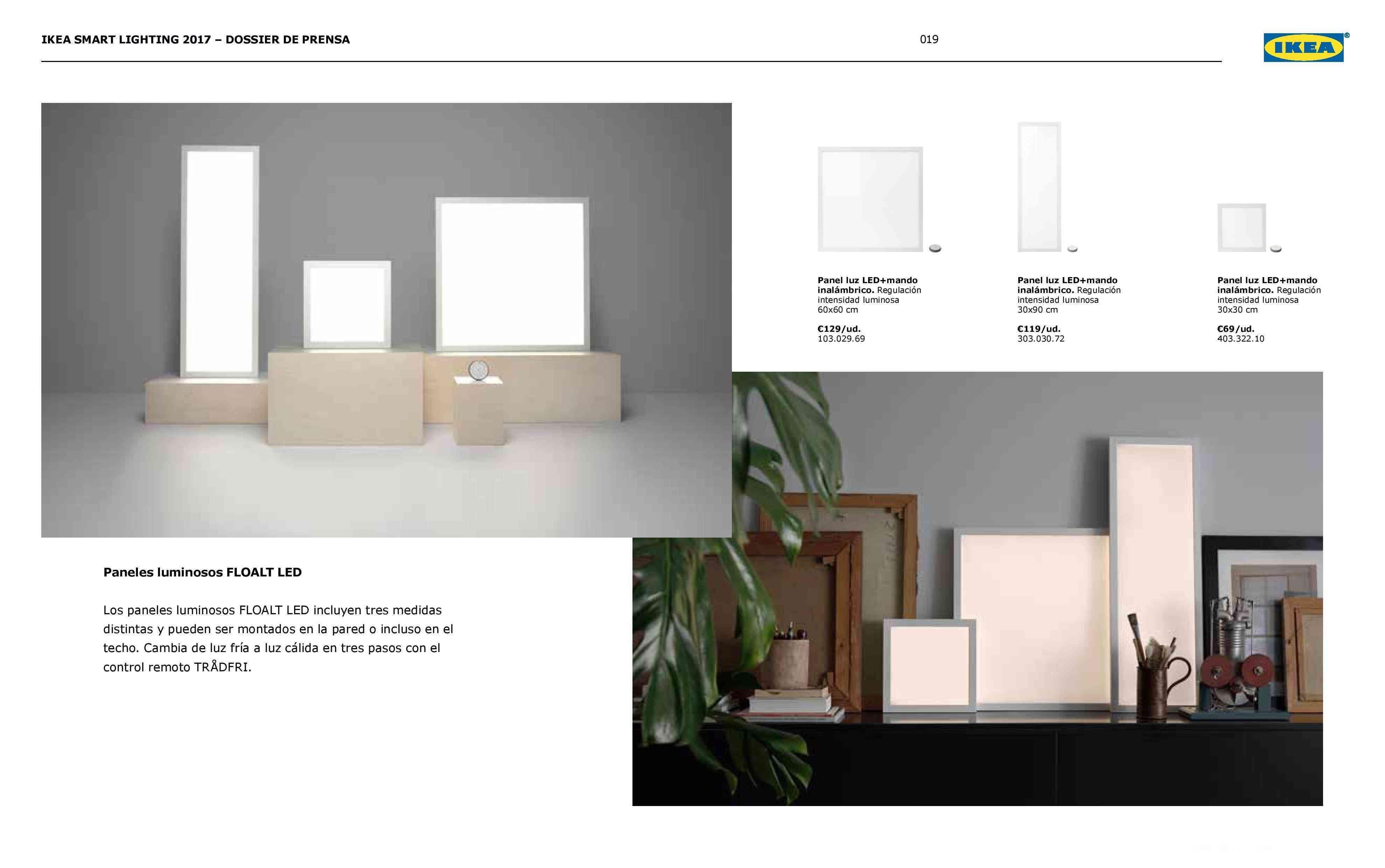 Novedades en iluminación de casas inteligentes con IKEA 75