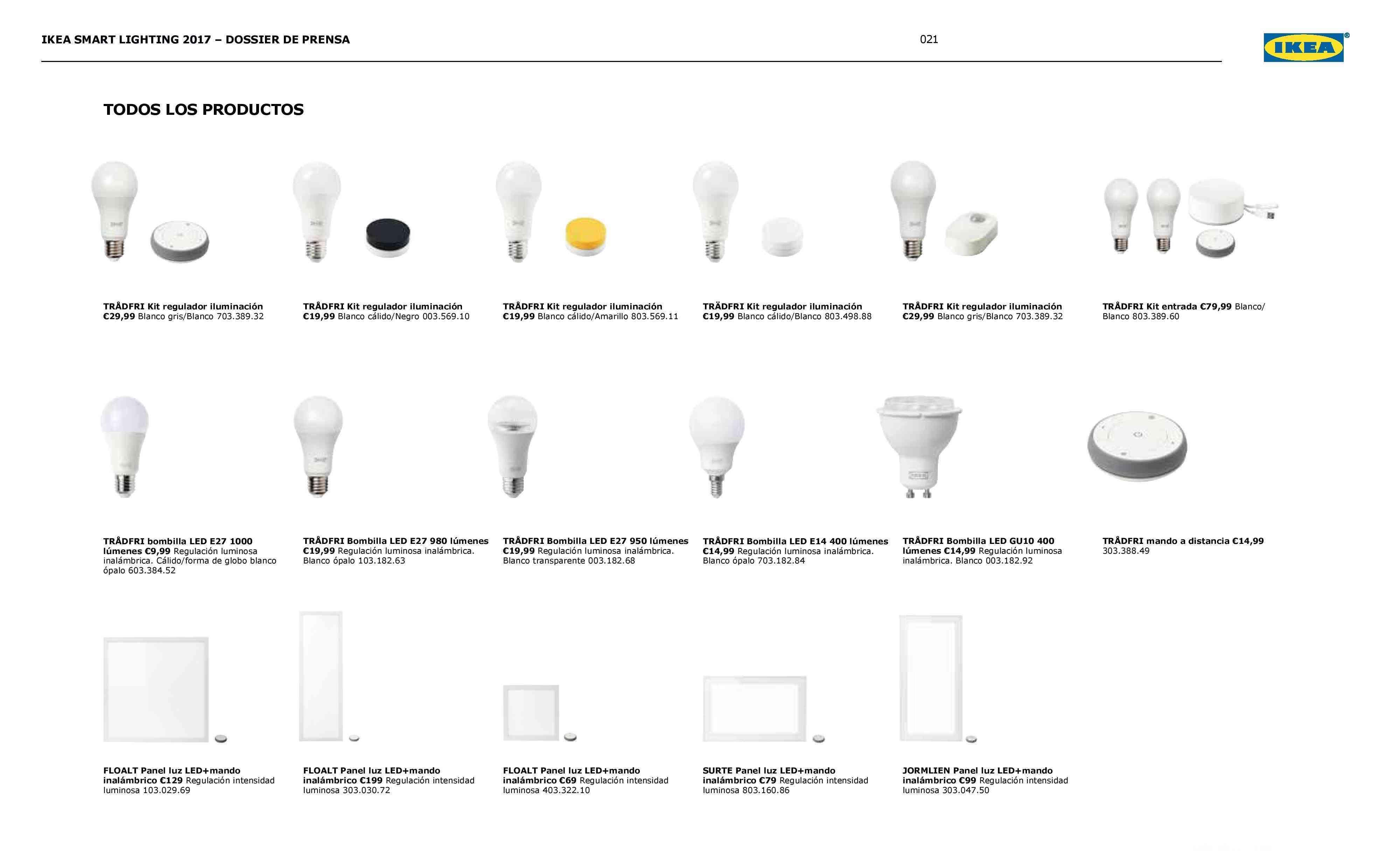 Novedades en iluminación de casas inteligentes con IKEA 77