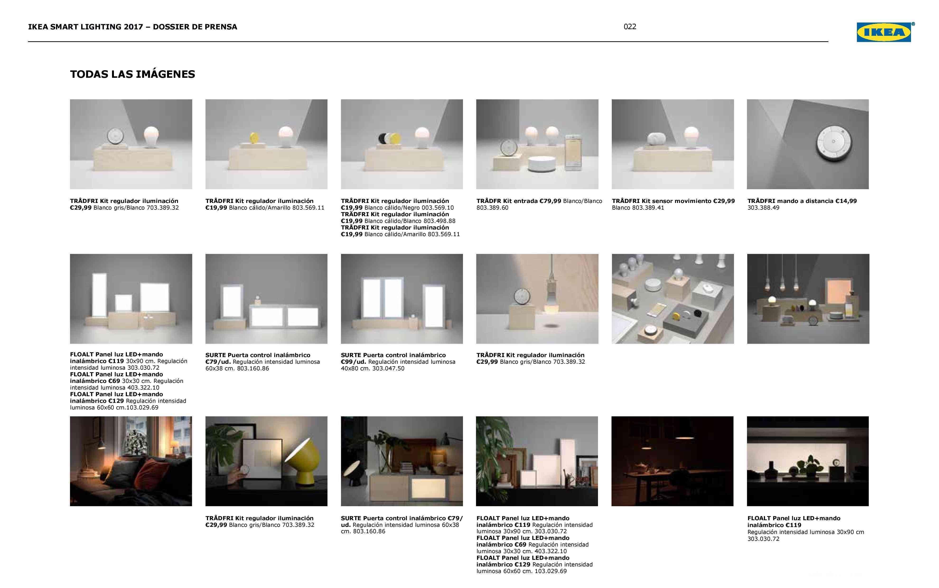 Novedades en iluminación de casas inteligentes con IKEA 78