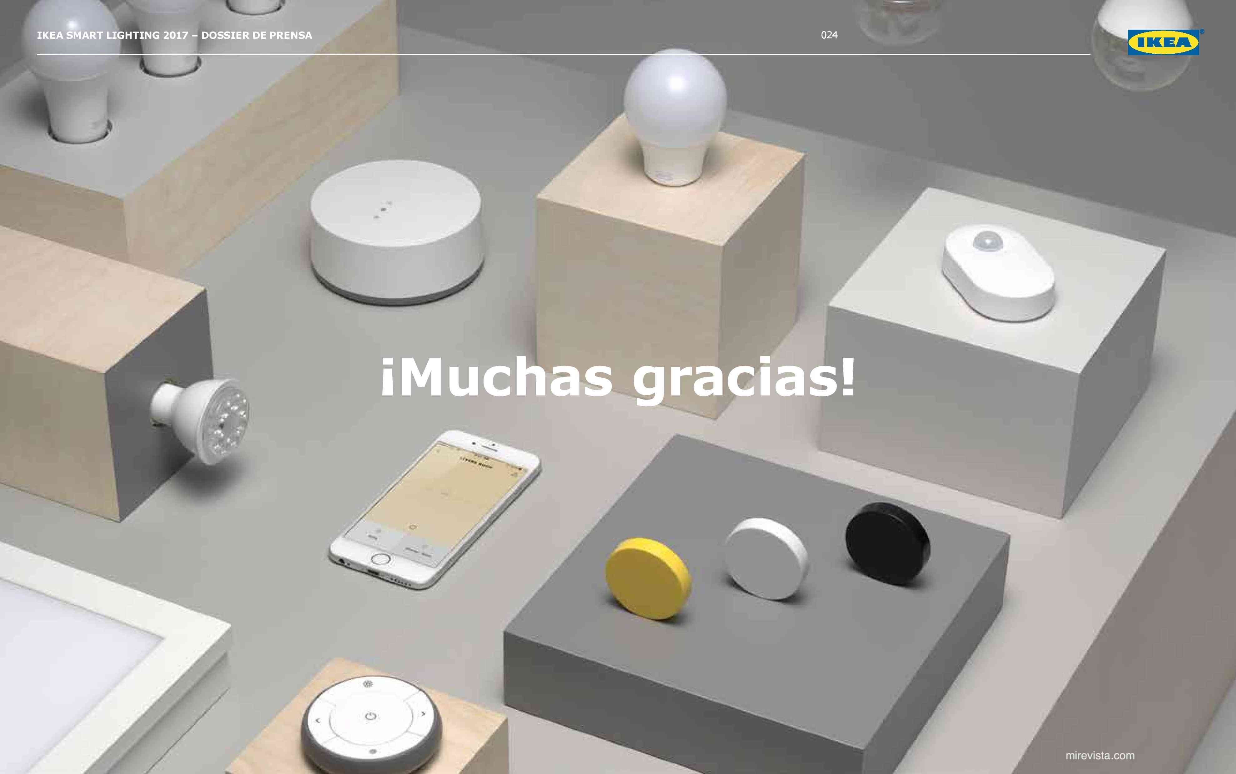 Novedades en iluminación de casas inteligentes con IKEA 80