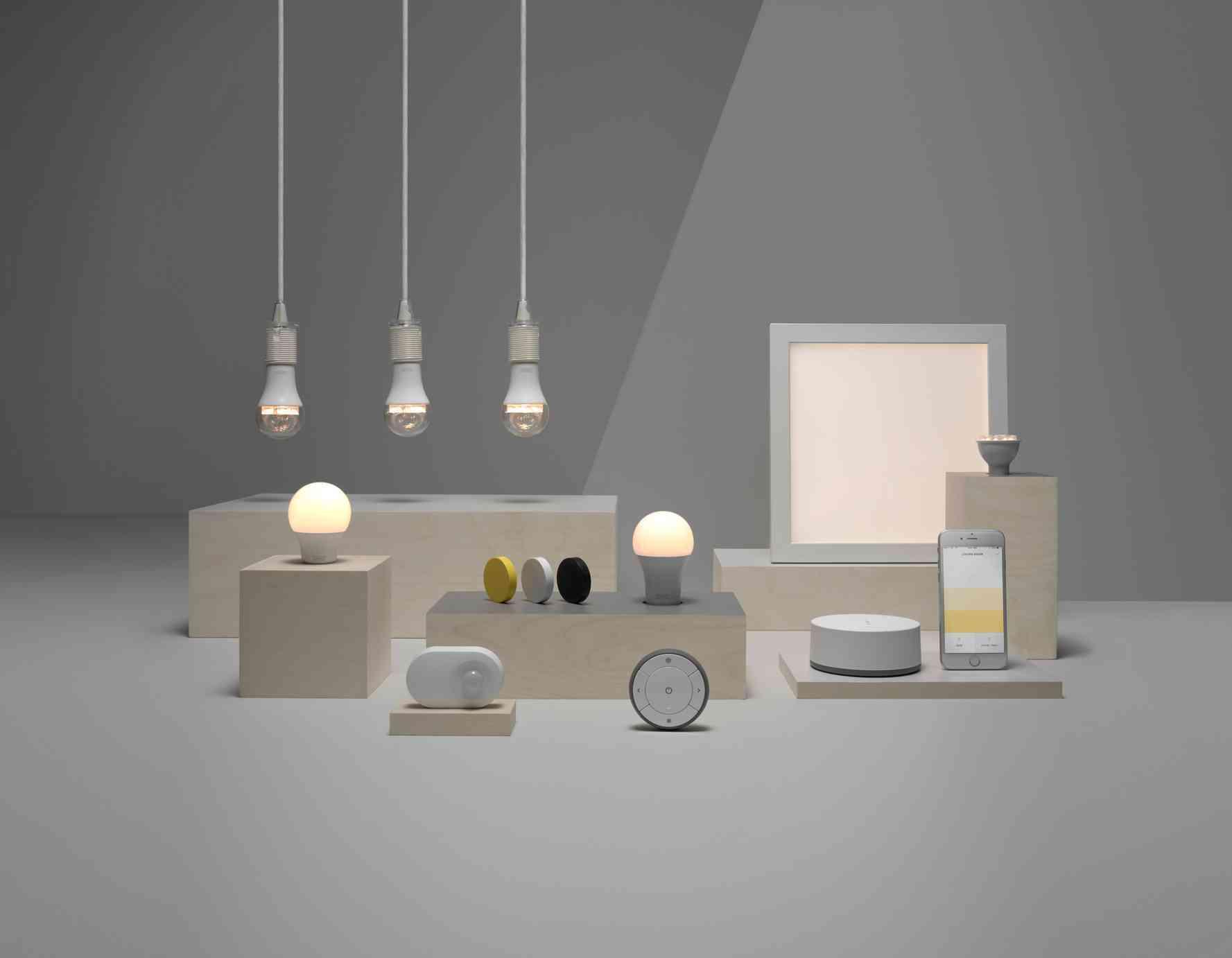 Novedades en iluminación de casas inteligentes con IKEA 55