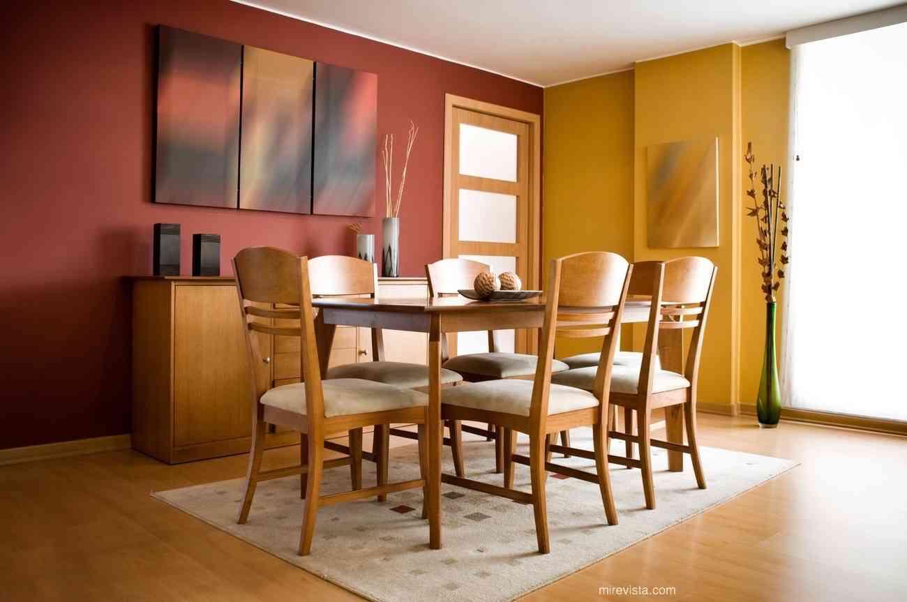 C mo elegir una mesa de comedor mi revista for Dining room y sus partes