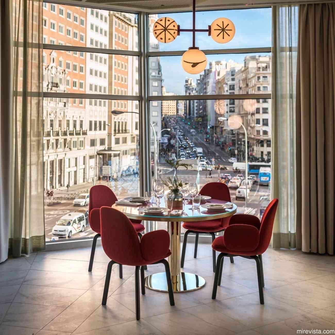 Torre de Madrid y el hotel con el diseño más cool de la ciudad 14