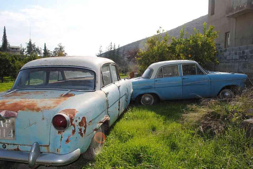 coches viejos en circulación