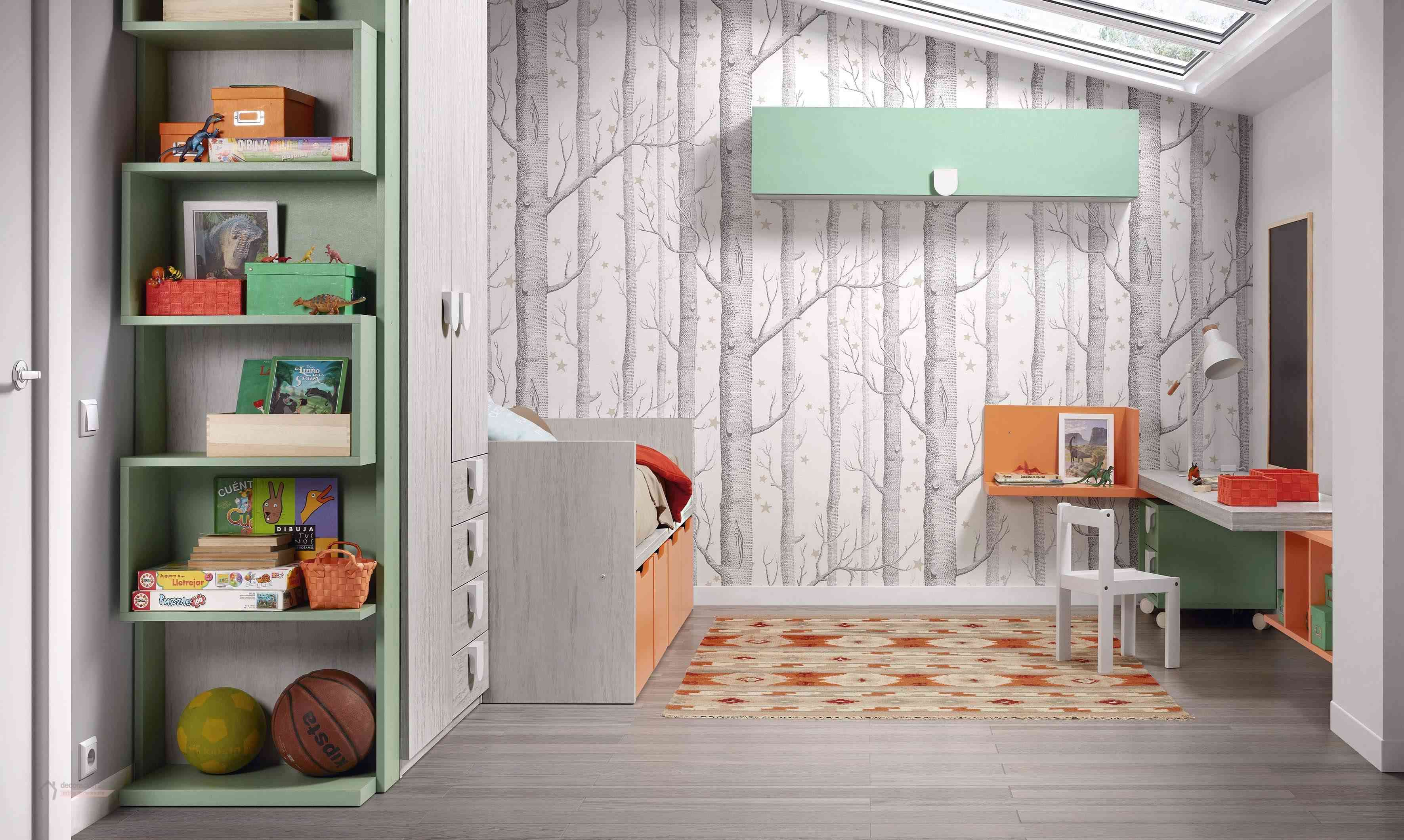 Dormitorios muy tecnológicos que siguen el ritmo de niños y jóvenes 19