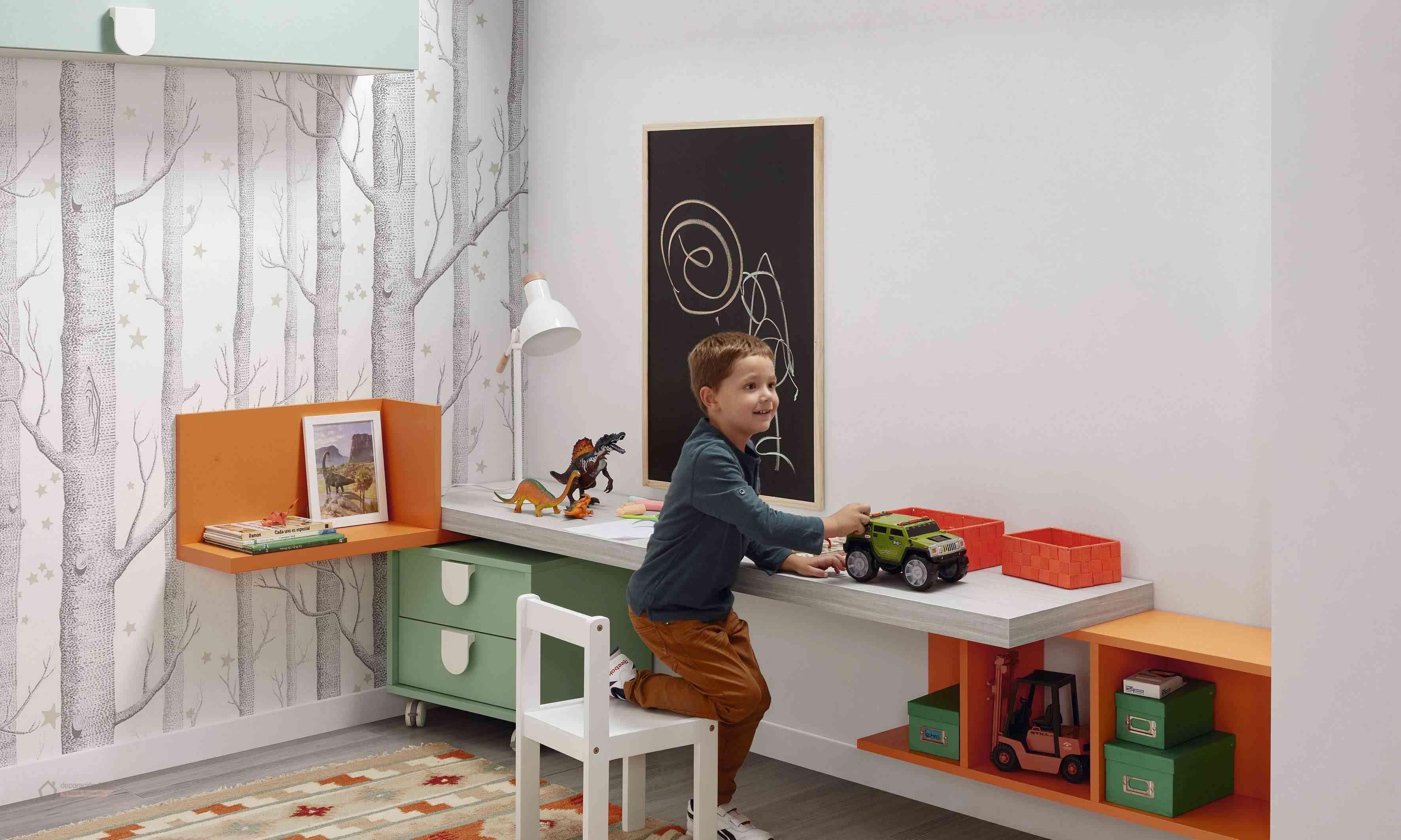 Dormitorios muy tecnológicos que siguen el ritmo de niños y jóvenes 20
