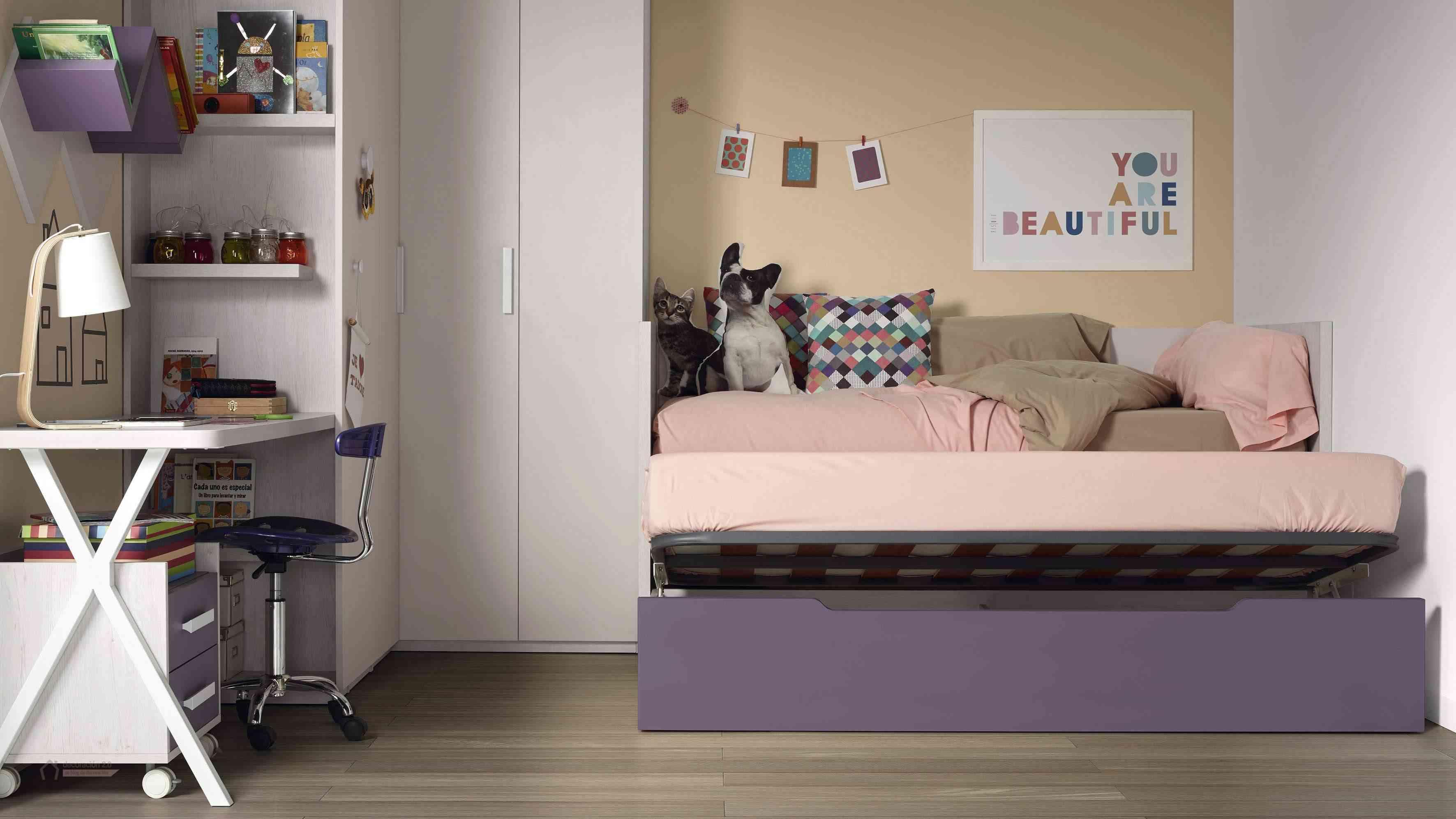 Dormitorios muy tecnológicos que siguen el ritmo de niños y jóvenes 21