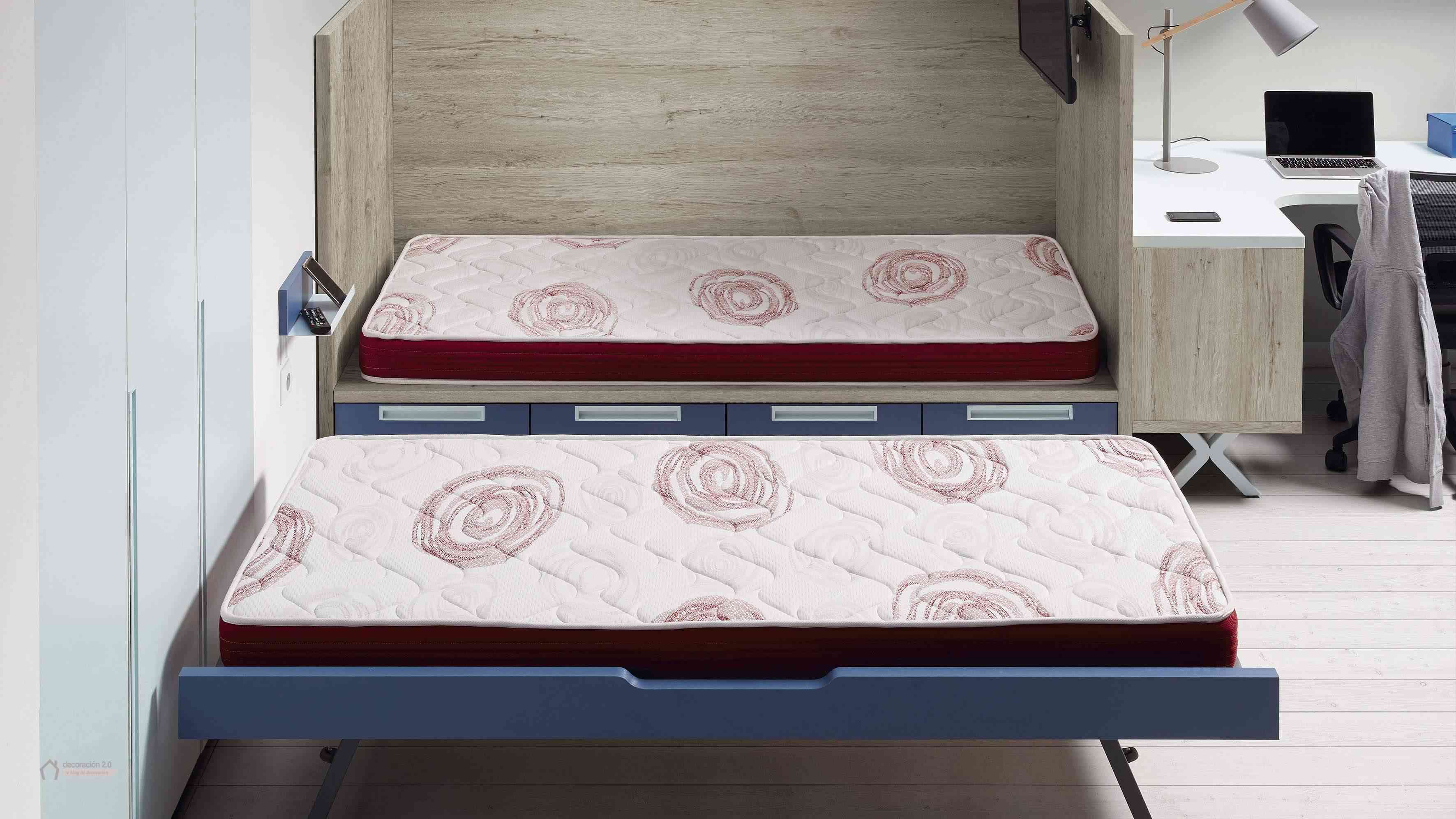 Dormitorios muy tecnológicos que siguen el ritmo de niños y jóvenes 23