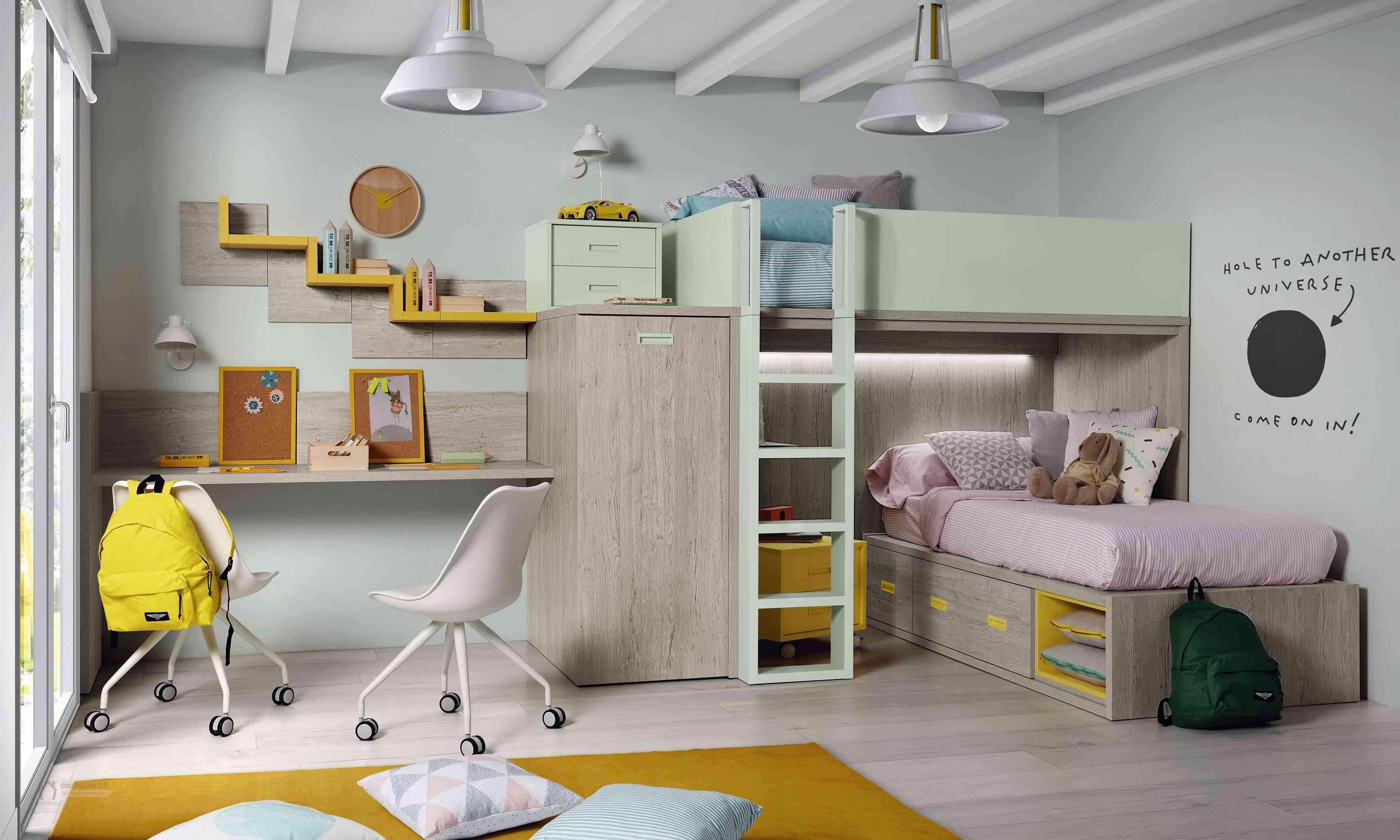 Dormitorios muy tecnológicos que siguen el ritmo de niños y jóvenes 25