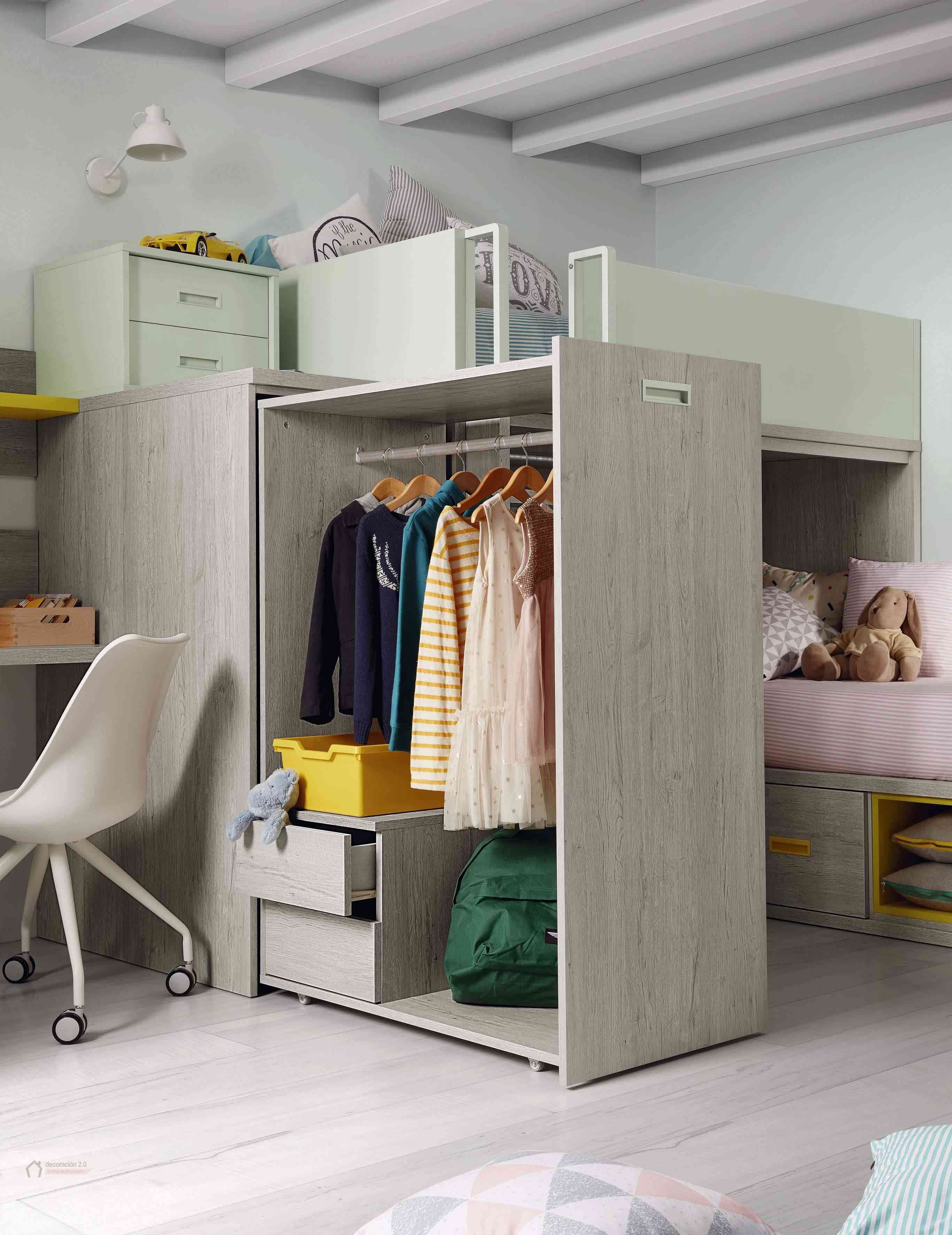 Dormitorios muy tecnológicos que siguen el ritmo de niños y jóvenes 26