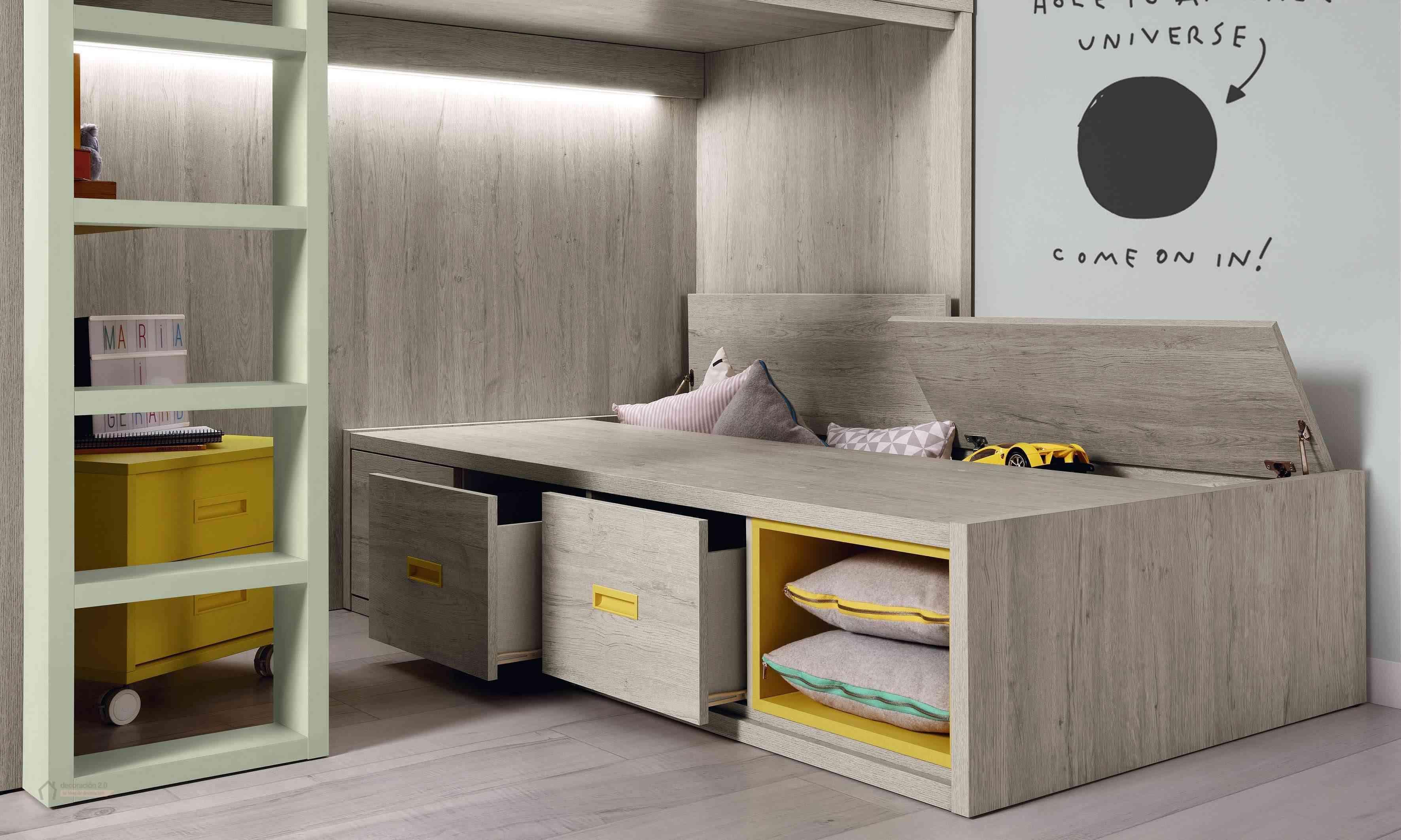 Dormitorios muy tecnológicos que siguen el ritmo de niños y jóvenes 27