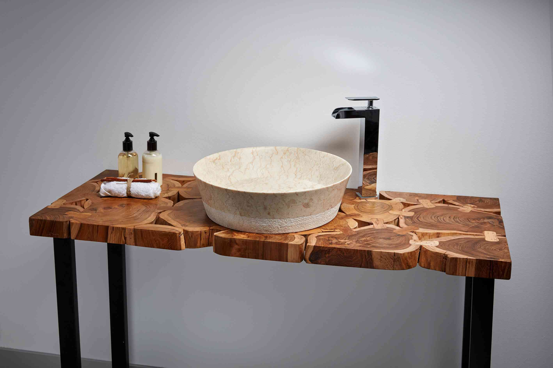 La delgadez de los nuevos lavabos de piedra mi revista - Lavabos de piedra rusticos ...