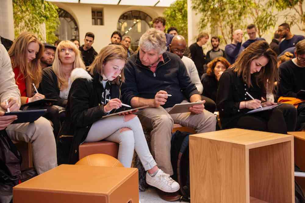 Estreno de las sesiones gratuitas «Today at Apple» en las 495 tiendas Apple Store