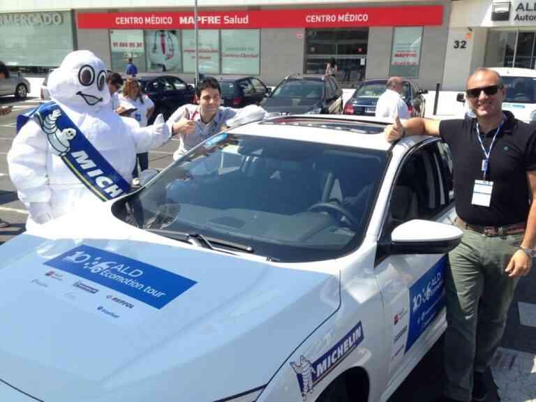 Honda reduce el consumo real de combustible en el X ALD Ecomotion Tour