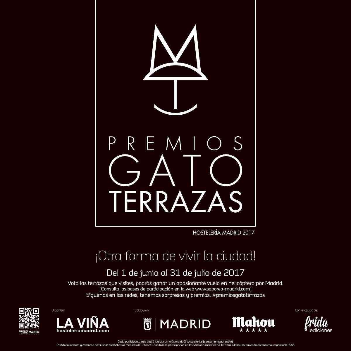 Premios Gato Terrazas Madrid para elegir la mejor terraza de la capital 1