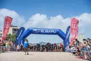 Roger Serrano se hace con la primera prueba del Subaru Triatlón Cross 1