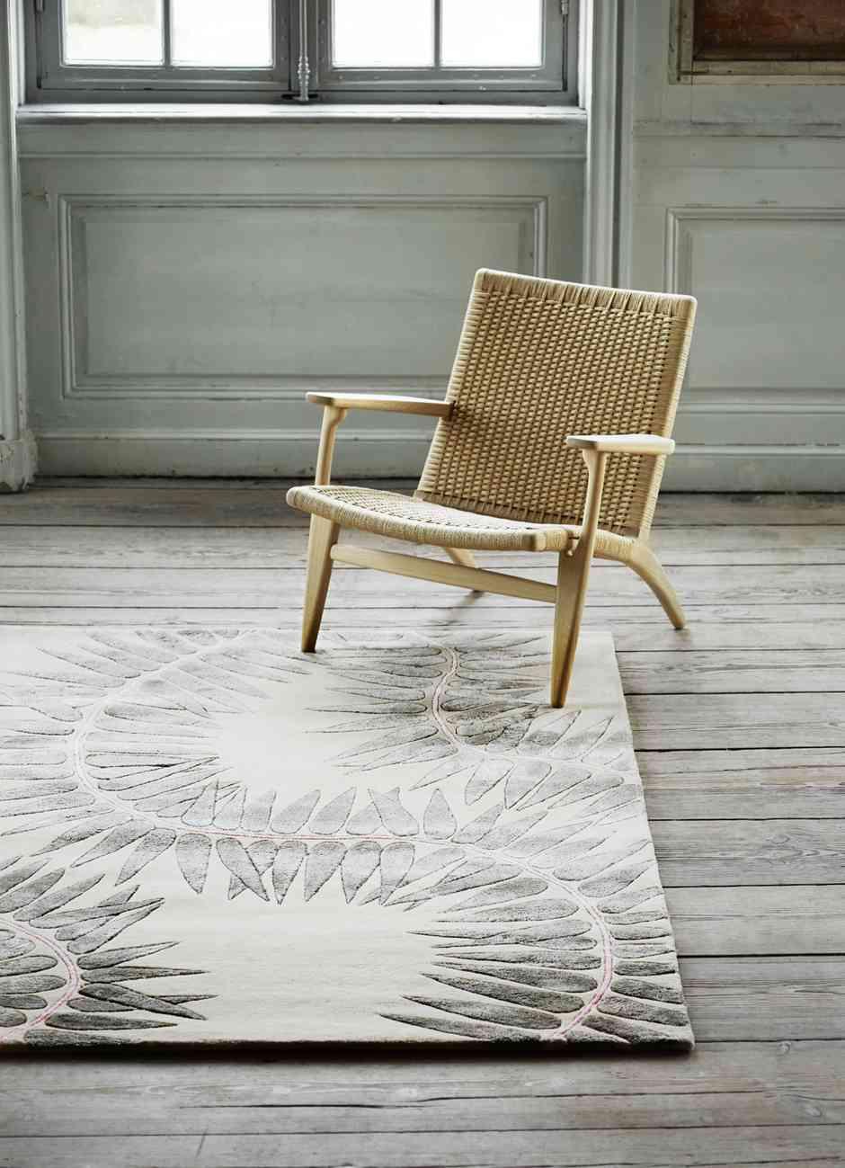 Las nuevas alfombras de Naja Utzon Popov que celebran la naturaleza 7