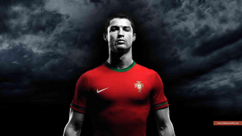 Cristiano Ronaldo jugador de la selección Portuguesa