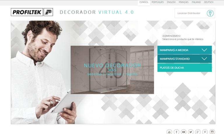 Disponible el Decorador Virtual 4.0 de Profiltek