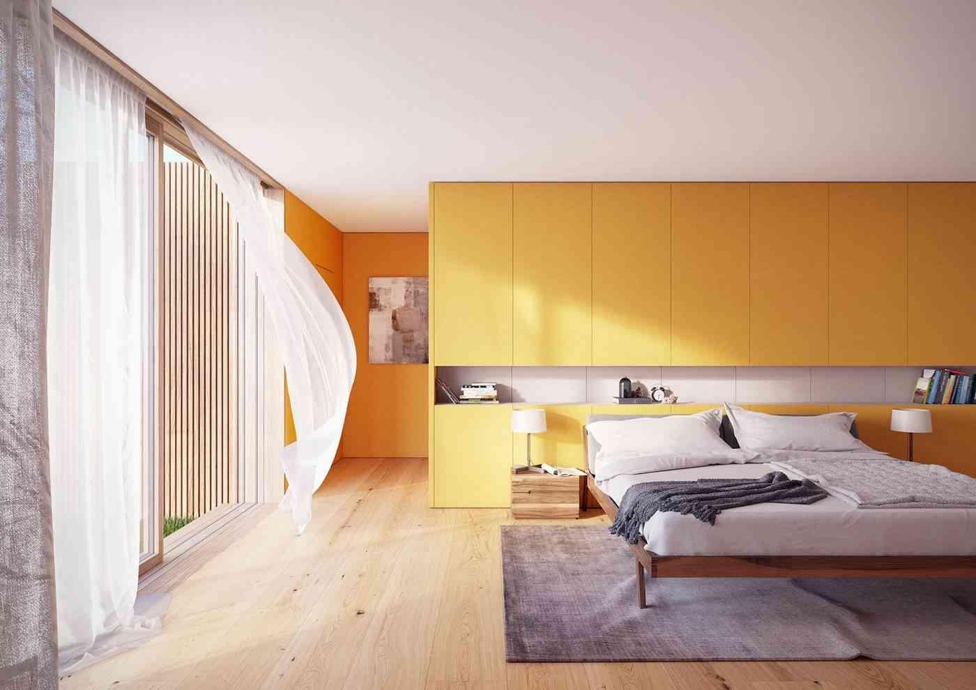 Ideas para un dormitorio amarillo