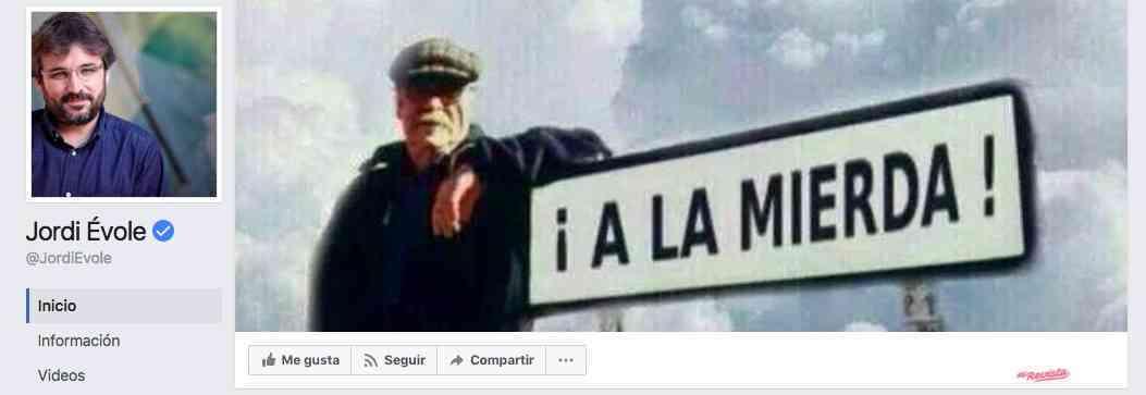 Jordi Évole en Facebook