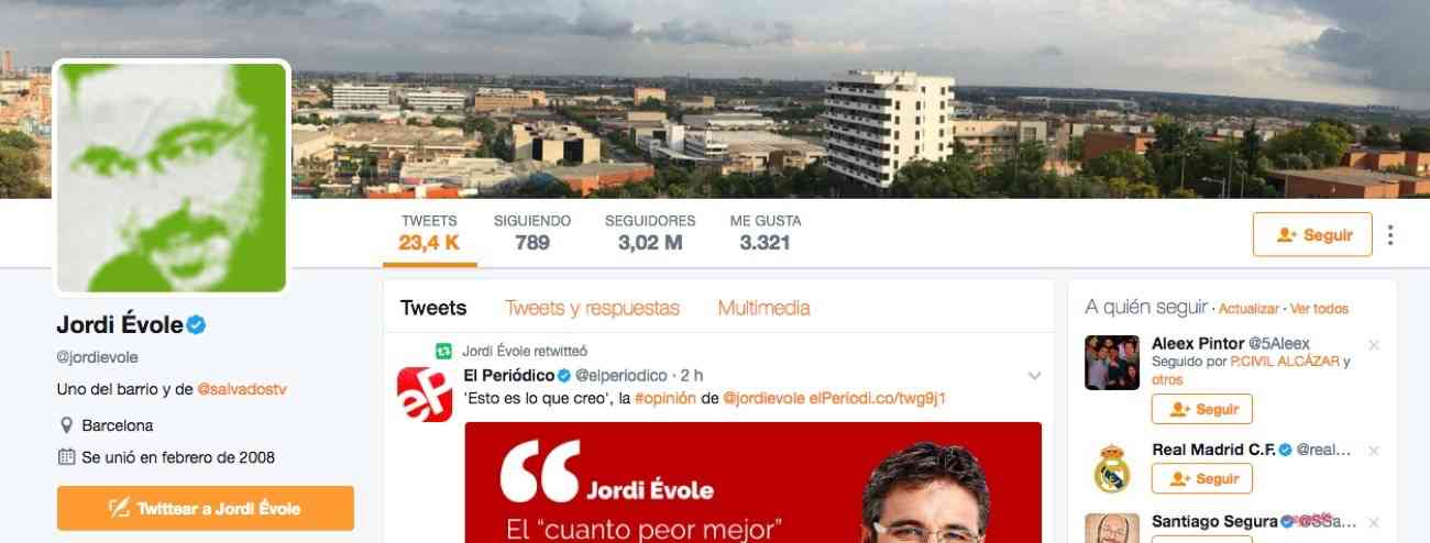 Jordi Évole en Twitter
