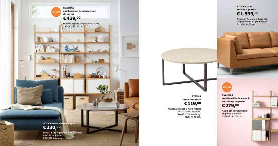 nuevo cat logo de ikea 2018 llena tu sal n de momentos mi revista. Black Bedroom Furniture Sets. Home Design Ideas